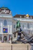 Wien Josefsplatz Stockfoto