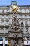 Wien kolonn av plågan royaltyfri foto