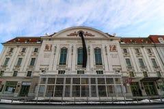 Wien konserthall Arkivfoton