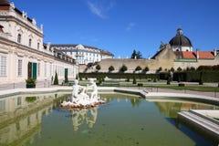 Wien landmark royaltyfri foto