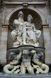 Wien-Monumente u. -statuen stockfoto