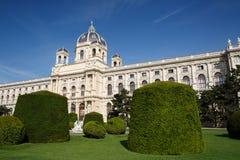 Wien museum av naturhistoria - Naturhistorisches museum Wien Royaltyfri Foto