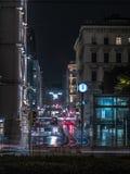 Wien nachts Lizenzfreies Stockbild