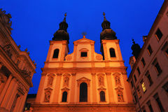 Wien by night Royalty Free Stock Photo