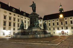 Wien by night Royalty Free Stock Photography