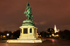 Wien by night Royalty Free Stock Images