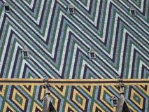 Wien, Oberseite von Stephansdom Stockbilder