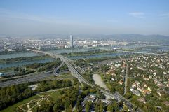 Wien panorama Royalty Free Stock Photo