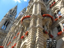 Wien-Rathaus lizenzfreie stockbilder
