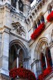 Wien-Rathaus - Winkel Stockfoto
