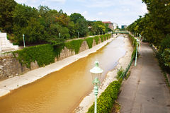 Wien river Stock Photography