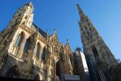 Wien ` s Stephansdom Arkivfoton