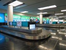 Wien Schwechat bagażu lotniskowy żądanie obraz royalty free