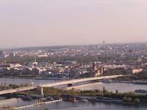 Wien. Sightseeing from the highest tower Royalty Free Stock Images