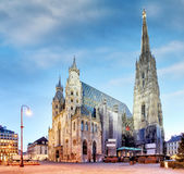 Wien St Stephan Cathedral, Österrike Royaltyfri Bild