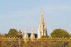 Wien stadshus Arkivbilder