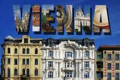 Wien-Stadtszenen Stockfotografie