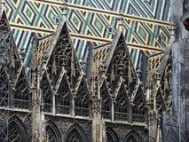 Wien Stephansdom Arkivbild