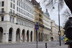 Wien-Straße Stockbilder
