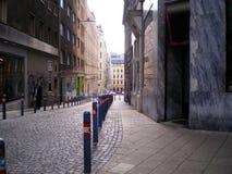 Wien-Straße Stockfoto