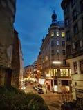 Wien-Straßen Stockbild