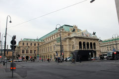 Wien am Tag Lizenzfreie Stockfotos