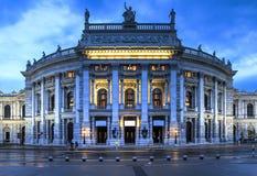 Wien tillståndsteater, Österrike Fotografering för Bildbyråer