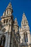 Wien Townhall (Rathaus) Turmwien, Österreich Lizenzfreies Stockbild