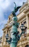 Wien trädgårdljus royaltyfria foton