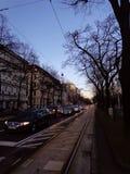 Wien trafik Royaltyfri Bild