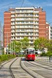 Wien-Tram Stockbild