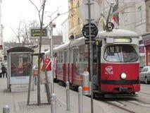 Wien-Tram Stockfotografie