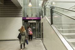 Wien U-Bahn Royaltyfria Bilder