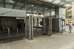 Wien U-Bahn Royaltyfri Fotografi