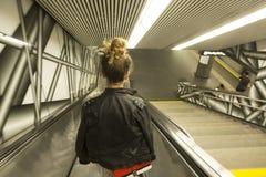Wien U-Bahn Royaltyfri Bild