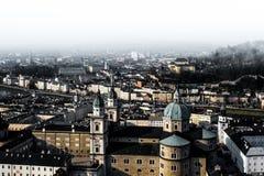 Wien un jour nuageux Images libres de droits
