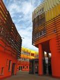 Wien universitet av nationalekonomi och affären royaltyfria bilder