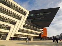 Wien universitet av nationalekonomi och affären arkivbild