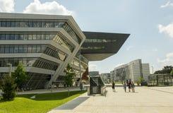 Wien universitetsområde Arkivbild