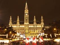 Wien-Weihnachtsmarkt Lizenzfreie Stockfotografie