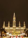 Wien-Weihnachtsmarkt Lizenzfreies Stockfoto