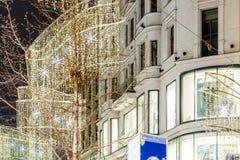 Wien zur Weihnachtszeit stockfotografie