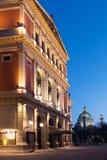 Wiener Musikverein at evening Stock Photos