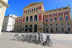 The Wiener Musikverein Stock Images