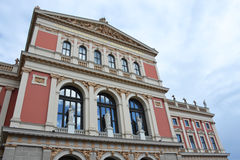 Wiener Musikverein Stock Image