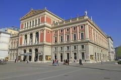Wiener Musikverein (Viennese Music Association). A famous concert hall in Vienna, Austria stock image