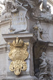 Wiener Pestsaule - Plague Memorial, Vienna, Austria. Wiener Pestsaule - Plague Memorial by Kracker and Bendel 1693, Vienna, Austria Royalty Free Stock Image