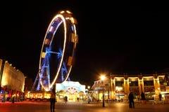 Wiener plociuch przy nocą Zdjęcie Royalty Free
