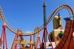Wiener Prater Amusement Park, Vienna, Austria Stock Photos