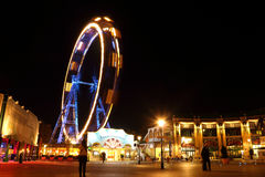 Wiener Prater at night Royalty Free Stock Photo